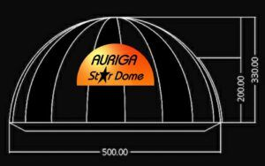 Mobile Planetarium UK- Auriga Astronomy Star Dome