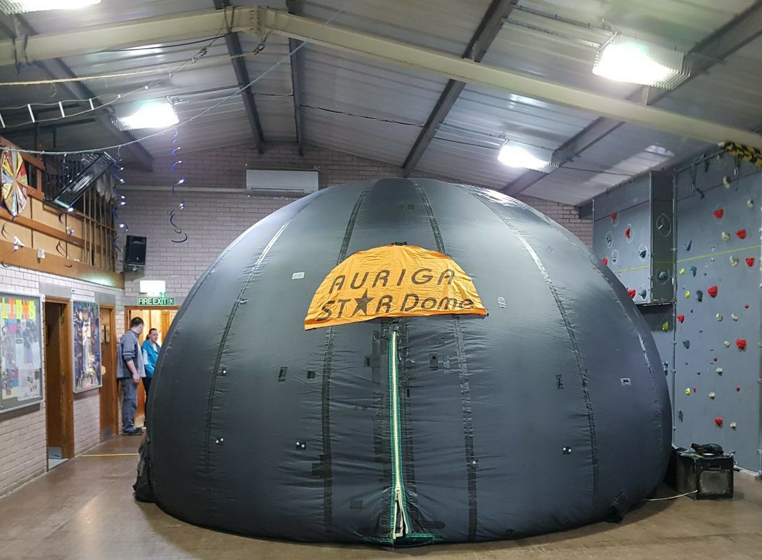 Mobile Planetarium Scouts and Guides shows- Auriga Astronomy