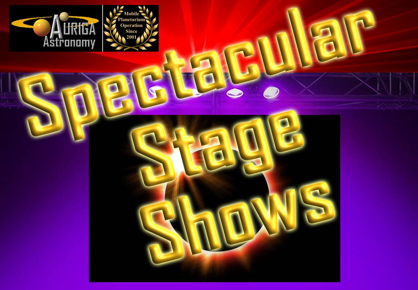 Astronomy Stage Shows